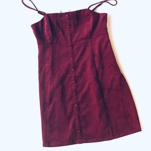 NWT Urban Outfitters Corduroy Dress
